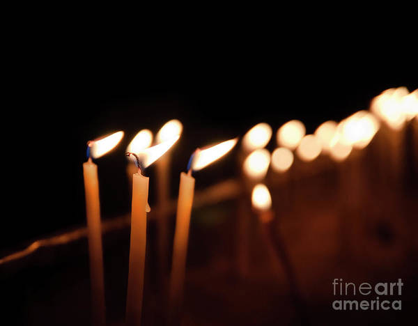 Wall Art - Photograph - Candles by Jelena Jovanovic