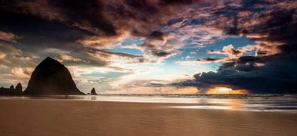 Wall Art - Photograph - Cannon Beach Panorama by Andrew Soundarajan
