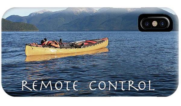 Photograph - Canoe Phone Case by Darrel Giesbrecht