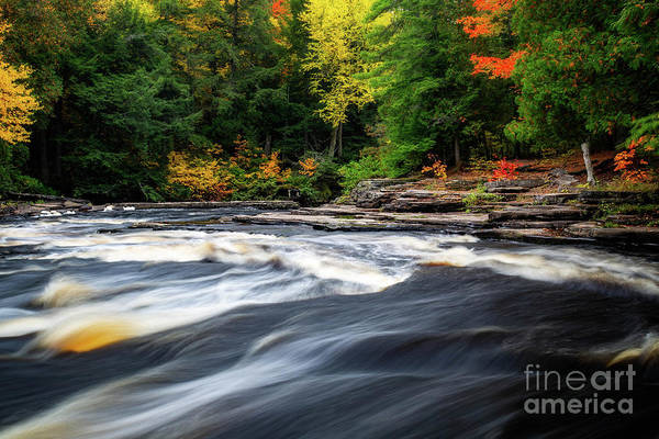 Wall Art - Photograph - Canyon Falls by Todd Bielby