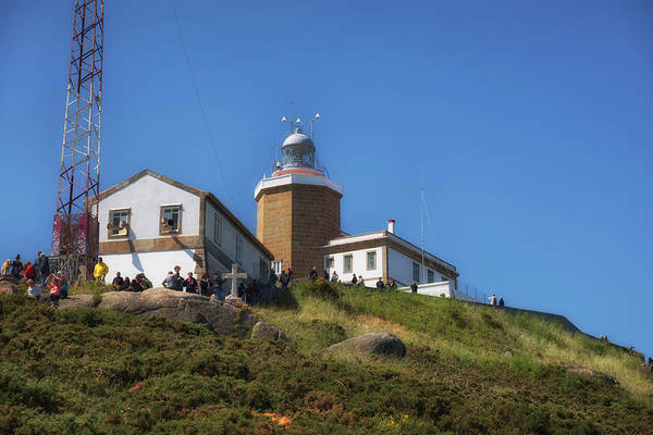 Wall Art - Photograph - Cape Finisterre Lighthouse - The End Of The Earth by RicardMN Photography