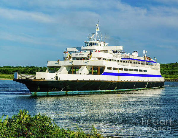 Photograph - Cape May Ferry by Nick Zelinsky