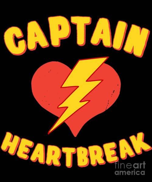 Digital Art - Captain Heartbreak by Flippin Sweet Gear