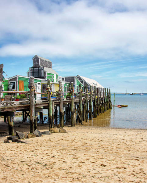 Wall Art - Photograph - Captain Jack's Wharf - Provincetown Massachusetts by Brendan Reals