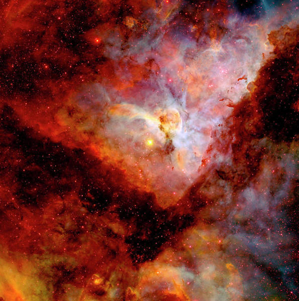 Photograph - Carina Nebula by Paul W Faust - Impressions of Light
