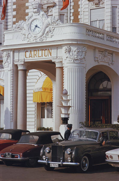 Cannes Photograph - Carlton Hotel by Slim Aarons