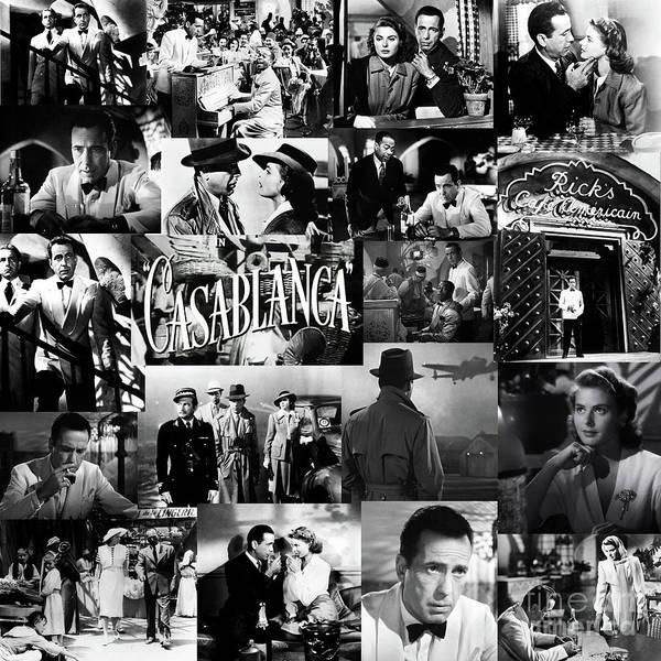 Bogart Digital Art - Casablanca  by Valentina Hramov