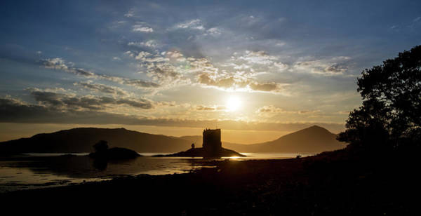 Photograph - Castle Stalker In Argyll, Scotland by Arterra Picture Library