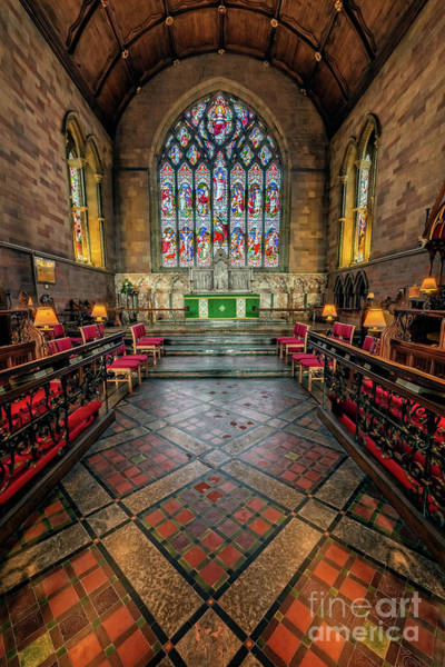 Wall Art - Photograph - Cathedral Interior by Adrian Evans