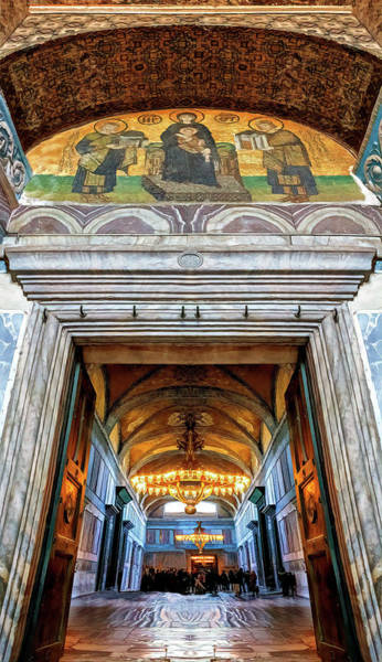 Wall Art - Photograph - Cathedral Interior by Maria Coulson