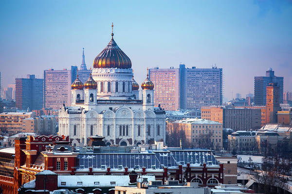 Cathedral Of Christ The Savior Photograph - Cathedral Of Christ The Saviour Church by Mordolff