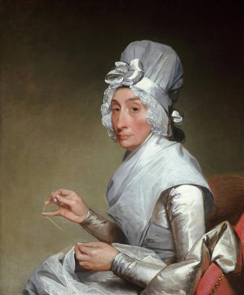 Sewer Painting - Catherine Brass Yates - Mrs. Richard Yates by Gilbert Stuart