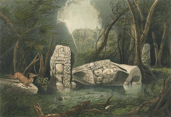 Wall Art - Painting - Catherwood, Frederick 1799-1854 Stephens, John Lloyd 1805-1852. Views Of Ancient Monuments In by Celestial Images