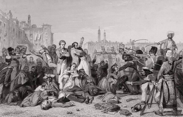 Rifle Photograph - Cawnpore Massacre by Hulton Archive