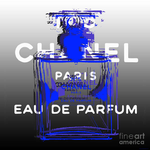 Digital Art - Chanel No 5 - Pop Art by Jean luc Comperat