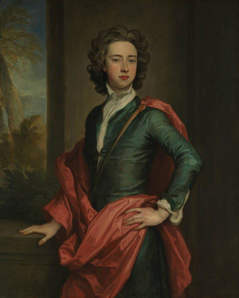 Painting - Charles Beauclerk, Duke Of St. Albans by Godfrey Kneller
