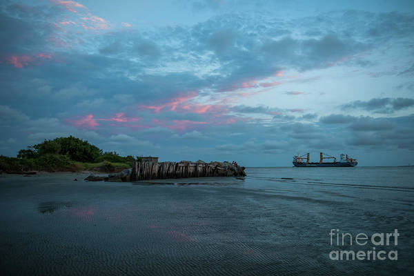 Photograph - Charleston Harbor - Sunset by Dale Powell