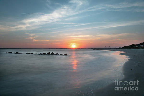 Photograph - Charleston Sunset - Sullivan's Island by Dale Powell