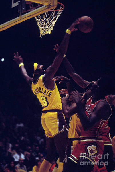 Photograph - Chicago Bulls V Los Angeles Lakers by Wen Roberts