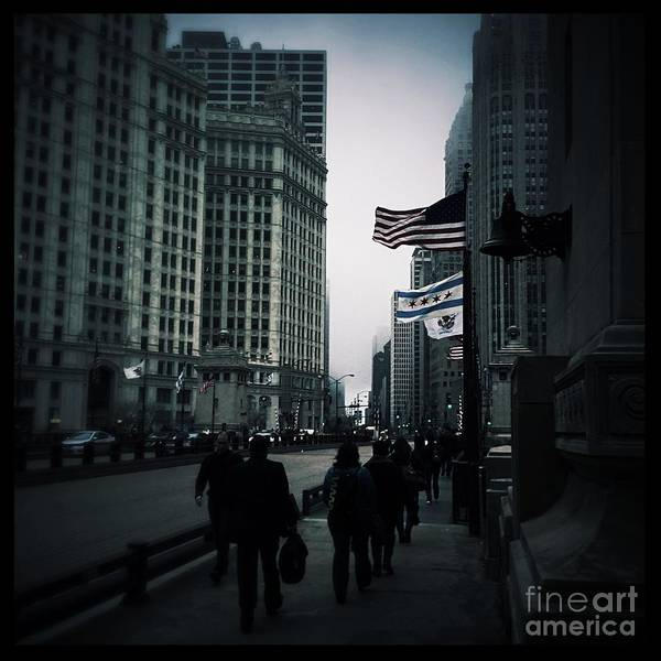 Photograph - Chicago City Fog by Frank J Casella