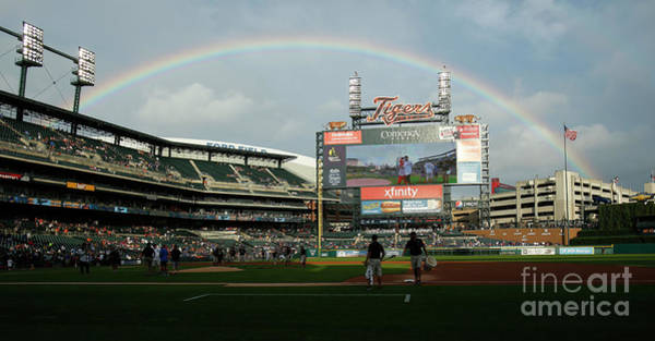 Photograph - Chicago Cubs V Detroit Tigers by Duane Burleson