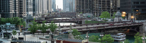 Wall Art - Photograph - Chicago River Panorama by Steve Gadomski