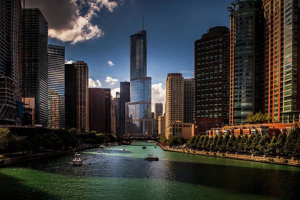 Wall Art - Photograph - Chicago Riverwalk by Andrew Soundarajan