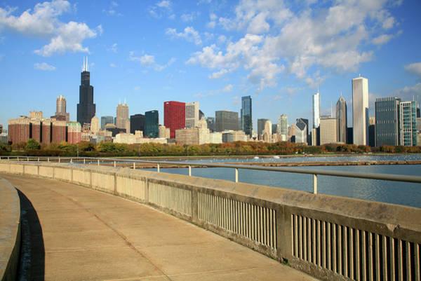 Willis Tower Photograph - Chicago Skyline, Lakefront, Willis by Hisham Ibrahim