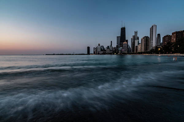 Photograph - Chicago's Lakefront At Dawn  by Sven Brogren