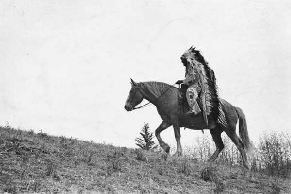 Canadian Culture Photograph - Chief Bears Paw by Kurt Hutton