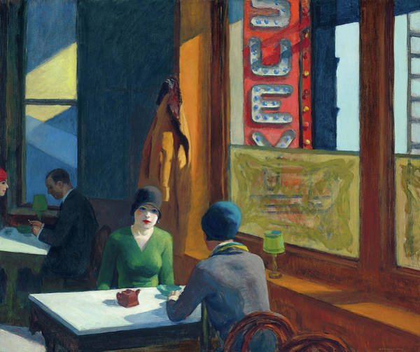 Wall Art - Painting - Chop Suey by Edward Hopper