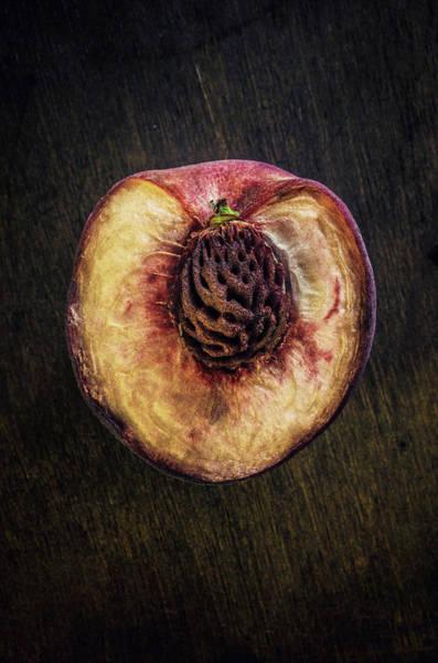 Wall Art - Photograph - Chopped Peach by Carlos Caetano