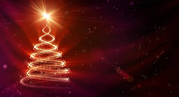 Event Digital Art - Christmas Background by Da-kuk
