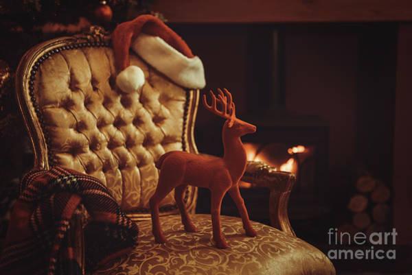 Fire House Photograph - Christmas Eve by Amanda Elwell
