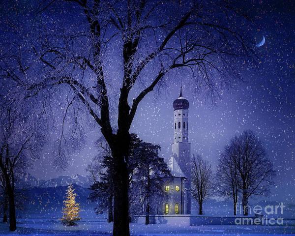 Photograph - Christmas Eve by Edmund Nagele