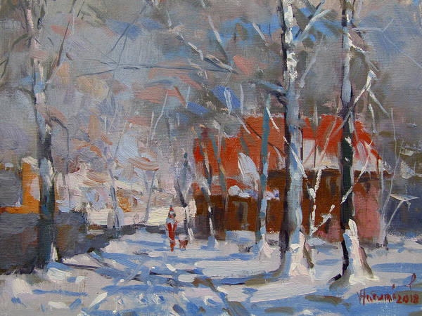 Wall Art - Painting - Christmas Eve by Ylli Haruni