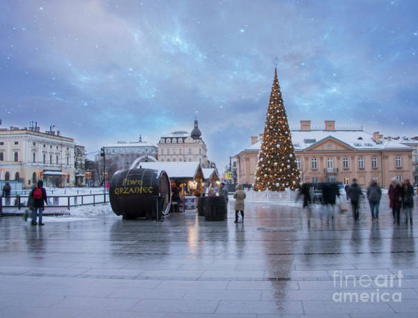 Wall Art - Photograph - Christmas In Krakow by Juli Scalzi
