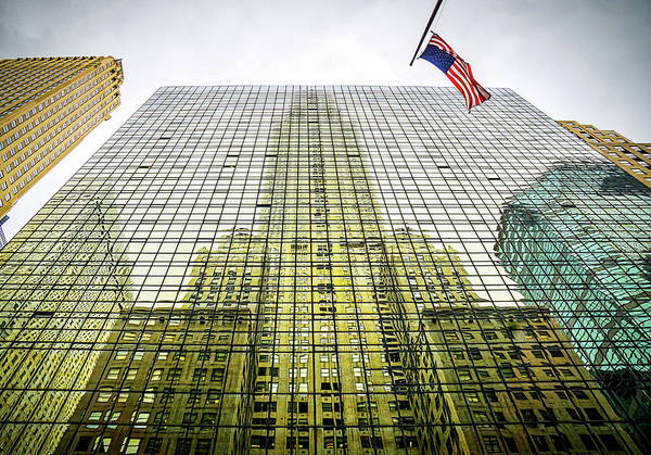 Wall Art - Photograph - Chrysler Building Reflections by June Marie Sobrito