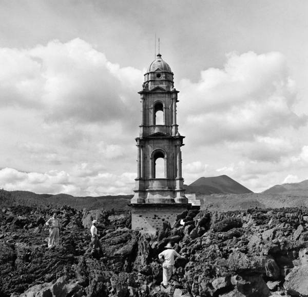Photograph - Church Of San Juan Parangaricutiro by Michael Ochs Archives