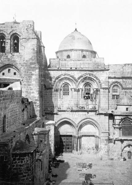 Wall Art - Photograph - Church Of The Holy Sepulchre by Munir Alawi