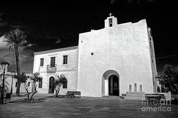 Baleares Photograph - Church, San Francisco, Formentera by John Edwards