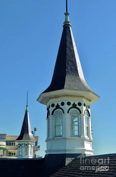 Photograph - Churchill Downs Twin Spires 2 by CAC Graphics
