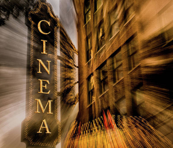 Wall Art - Painting - Cinema by Bill Carson Photography