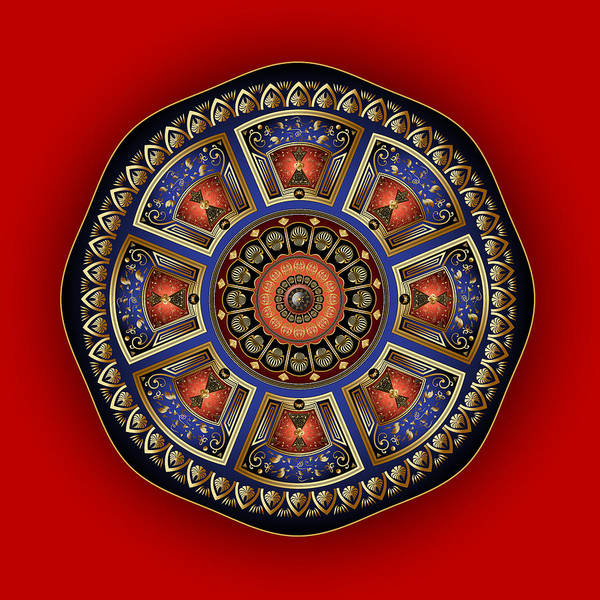 Digital Art - Circumplexical No 3851 by Alan Bennington