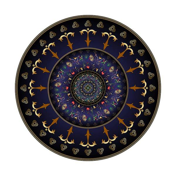 Digital Art - Circumplexical No 3892 by Alan Bennington