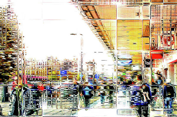 Wall Art - Photograph - City Abstract Painting by Tom Gowanlock