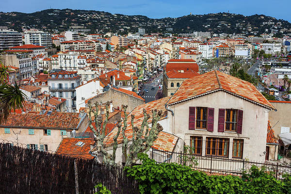 Wall Art - Photograph - City Of Cannes Cityscape In France by Artur Bogacki