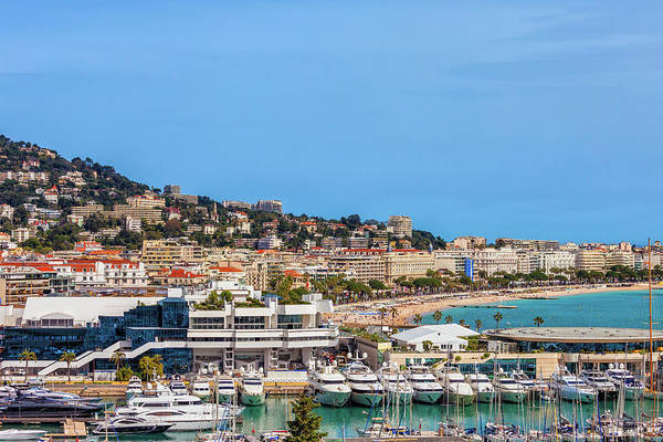 Wall Art - Photograph - City Of Cannes In France by Artur Bogacki