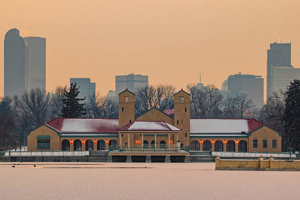 Photograph - City Park Pavillon by Philip Rodgers