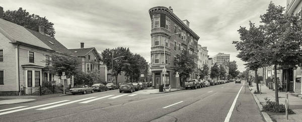 Wall Art - Photograph - City Street With Parked Cars by Panoramic Images